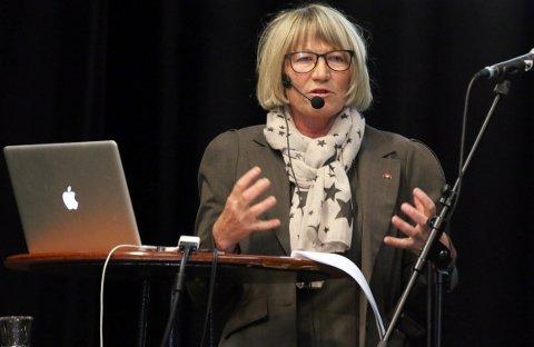 POSITIV UTVIKLING:  fylkessjef Elisabeth Holen i NAV.