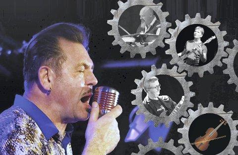 Helt rå: Stein Stokke er velkjent for sin rå og kraftige, men samtidig sjelfulle stemme, og sitt personlige munnspilluttrykk. Lørdag er han å høre på Blues Cafe i Slemmestad med sin «maskin».