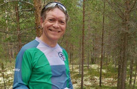 FORTSETTER: Leder i Røyken Orienteringslag, Øyvind R. Hansen.