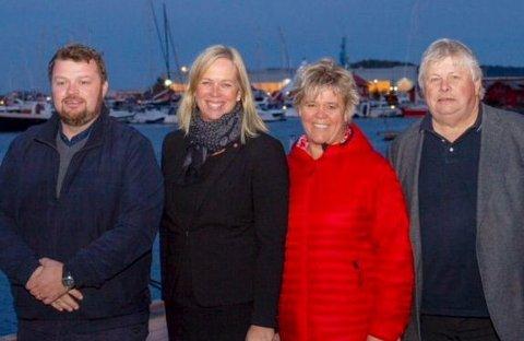 Topp: Elin Gran Weggesrud, Thomas Rundbråthen, Mette Måge Olsen og Karl Einar Haslestad troner toppen. Pressefoto