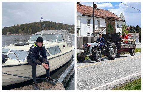 AVLYST: Både båt- og traktorkortesjen er avlyst.