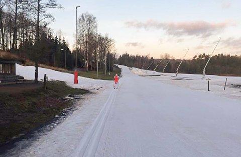 Til tross for mildvær, er det gode muligheter for å gå på ski i Stokke nå.