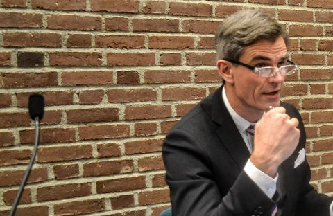 ANSETTELSE: Ordfører Bjørn Ole Gleditsch har ledet ansettelsesprosessen. Men lovbruddene får ingen rettslige konsekvenser for ansettelsesrådet.