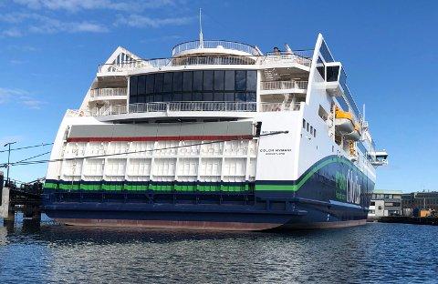 ENIGE OM NOE: Alle de 13 medlemmene av planutvalget vil forlenge konsesjonen for Color Line (bildet) og Fjord Line etter 2025.