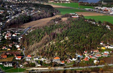 YVENÅSEN: Tunneler gjennom Yvenåsen er høyst aktuelt i forbindelse med utbyggingen av fylkesvei 109.