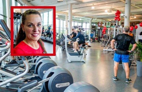 FÅR STØTTE: Family Sports Club på Quality og Marianne Wiese er blant de 10 treningssentrene som får koronastøtte av Sarpsborg kommune.