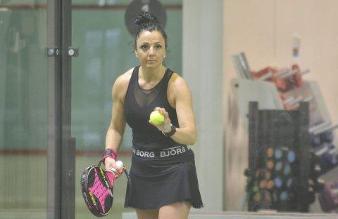 KLAR: Irena Ognjenovic er klar til å kaste.