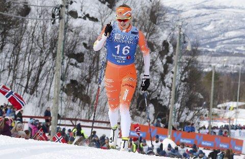 HAR GLØDEN: Om Hanna Ruud Barland har hatt tre år med mye sykdom, vil hun ikke gi opp, men arbeide hardt for å se hva som kan være mulig som skiløper.