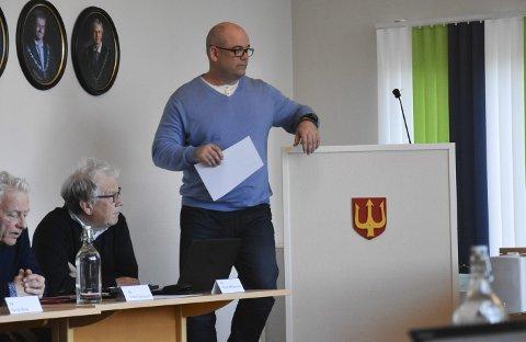 Kommunestyret: Øystein Lauritzen (Frp)