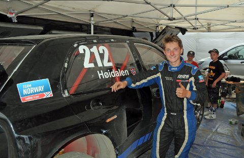 EM-DRØM: Sebastian Høidalen, som ble tatt ut på juniorlandslaget sist høst, drømmer om EM-runde allerede til helga. Som første reserve får han sjansen hvis noen melder forfall.