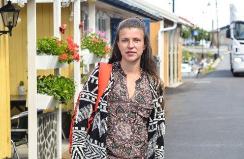 OPPGITT: Marthe Olsen mener det er vanlig folkeskikk å hjelpe enkelte i nød uten å kreve betaling. Foto: Sondre Lindhagen Nilssen