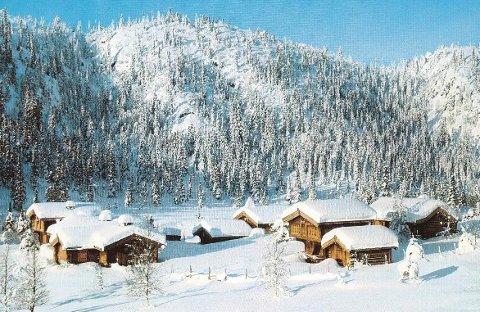 VINTER i FJELLET: Melsombu fotografert på vinterstid.
