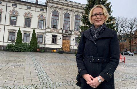 LAGT PÅ IS: Lene Lindflaten og Porsgrunn kommune hadde planer om å vaksinere med AstraZeneca fredag.
