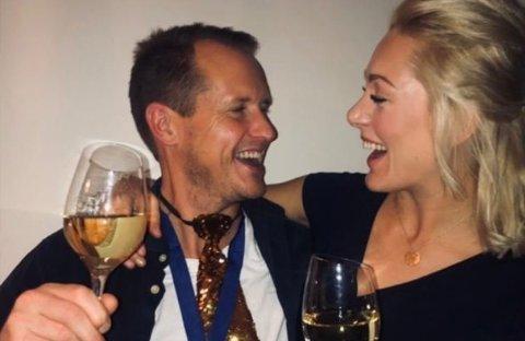 Per Gunvald Haugen og Karianne Wahlstrøm møtte hverandre på Farmen i fjor. Siden da har de begynt å date og i følge Haugen møtes de ofte. Foto: Privat