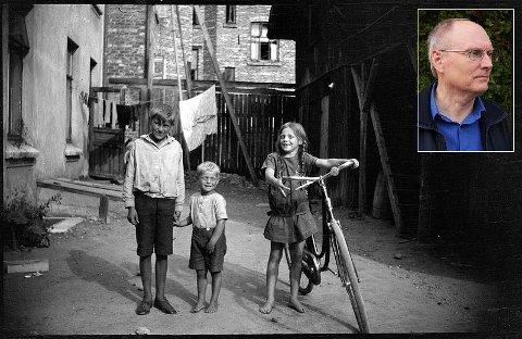 HISTORISK TILBAKEBLIKK: Gjennom bilder gir Trond Aasland et innblikk i hvordan det var å vokse opp og leve på Notodden da byen ble skapt.