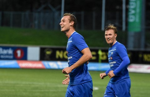MÅL: Sjur Lothe satte inn NFKs tredje scoring mot Rosenborg 2.