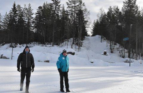 Utbedring: Nå får Grønkjær 1,5 millioner til utbedringen av skianlegget. Men de vil ikke stoppe der, sier styreleder, Terje Bakka.