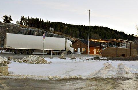 KONTROLL: Fra kontrollstasjonen på Bergsøya. ILL.-Foto: JAN A. ØDEGÅRD