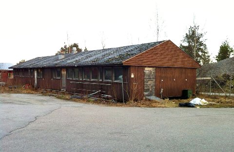 Det er sendt inn søknad om rivningstillatelse for dette bygget i Sødalen på Frei.