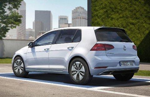 VW e-Golf kommer nå i ny utgave, med lengre rekkevidde. (Foto: VW/ANB)
