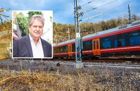 BY TIL BY: Men tanken bak InterCity er jo som navnet forteller; togtilbud mellom byene/tettstedene i landsdelen. Tar du en togtur til Oslo forventer du ikke å måtte gå av flere stasjoner før Oslo S for så å benytte et annet tilbud helt fram, skriver Kåre Pettersen.