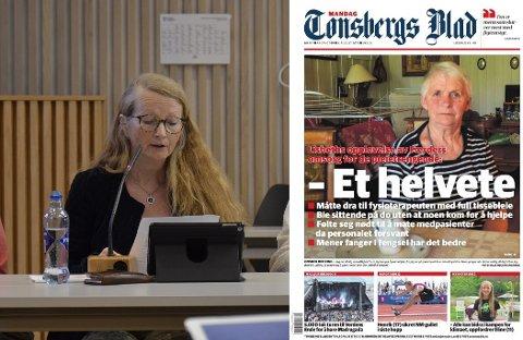 KRAV: Så lenge vi ser negative tilbakemeldinger som i Lisbeth Sendstads og andre lignende tilfeller, kan vi ikke slå oss til ro med at alt er så bra i Færder slik de to Høyre-politikerne synes å gjøre, skriver Jorunn Midthun.