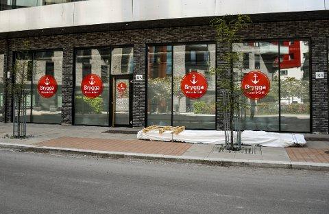 NYTT SERVERINGSSTED: I Rambergveien 16A på Kaldnes åpner det snart et nytt gatekjøkken.