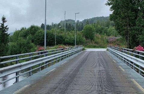 INSPEKSJON: Sunnan bru i Steinkjer er blant bruene som blir stengt i forbindelse med inspeksjon neste uke.