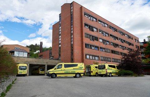 SMITTE: Tre ansatte ved Sykehuset Namsos har fått påvist koronasmitte.