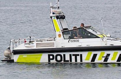 Politibåten rykket ut etter melding om en mann som oppførte seg truende mot flere personer. Arkivfoto