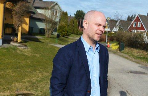 MEGLER: Eiendomsmegler Kenneth Doksheim i Privatmegleren troner på inntektstoppen blant meglerne i Tønsberg-området.