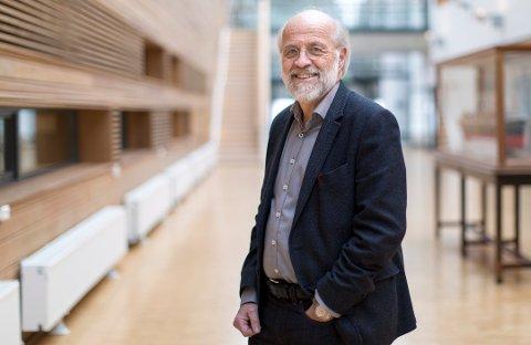 HAR IKKE BESTEMT SEG: Nåværende rektor ved USN, Petter Aasen, har allerede 12 års erfaring som rektor.