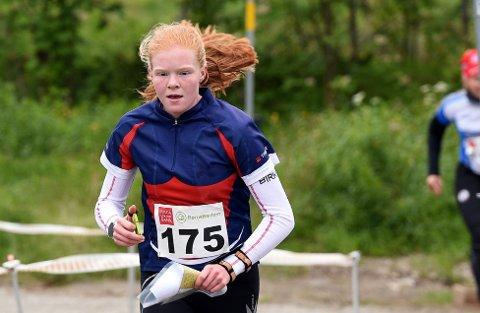 VANT: Eline Horten Jordet vant langdistansen, Dølaspretten i Dalsbygda søndag