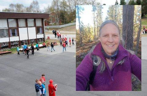 SKOLE PÅ RØDT NIVÅ: Ingjerd Helen Nygård jobber som lærer ved Tynset barneskole. Hun er ikke komfortabel med at skolene gjenåpner tirsdag.