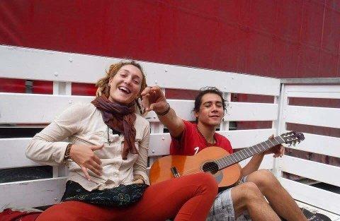 Guro Stafseth (22) på reise i Latin-Amerika.