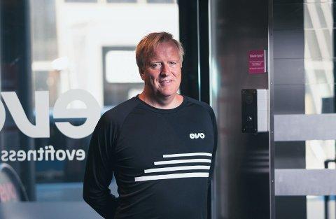 SJEF: Morten Hellevang er sjef for Evo Fitness.