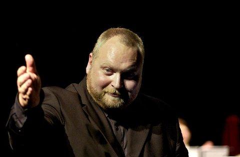 FOR ANDRE GONG; Reid Gilje har i mange år vore EBML sin faste dirigent, men har leia korpset berre ein gong før i NM.