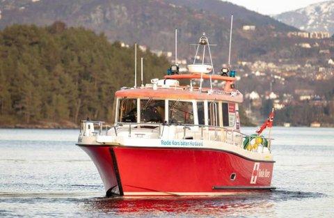 Slik ser ut den noverande redningsbåten. Så langt i år har denne båten vore på 51 oppdrag, ein årsrekord.