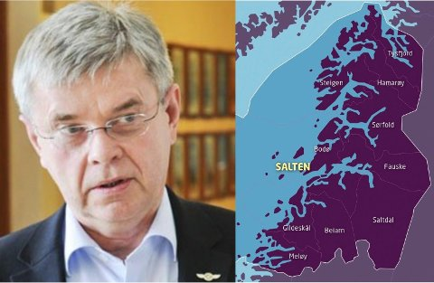 Med tillegg av Værøy og Røst var det slik tidligere Høyre-ordfører Ole H. Hjartøy så for seg sin ønskekommune. Om partiets tvangstanker skulle få gjennomslag, kan hans drøm gå i oppfyllelse.