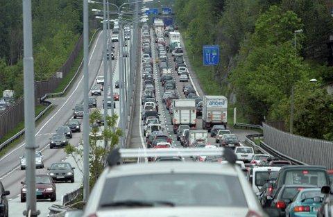 REISING: Pinsetrafikken var stor, nå som før.   Foto: Terje Bendiksby (NTB scanpix)