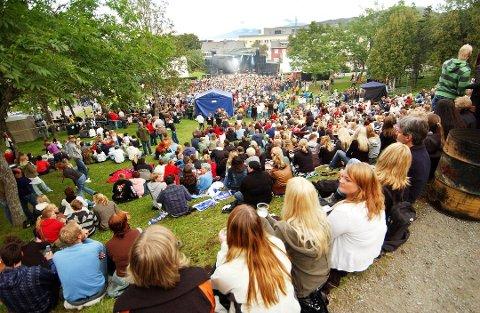 Bilde fra Parkenfestivalen et tidligere år.
