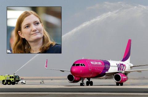 Ordfører Ida Pinnerød nekter å fly med WizzAir. Foto: Patrick Castillo/Avisa Nordland