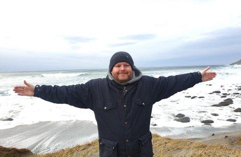 Anders Høyen er glad for at han får den beste hjelp etter at han fikk kreftdiagnosen. Foto: Privat