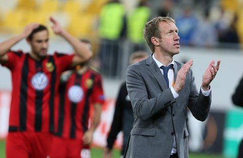 Östersund og trener Graham Potter kan gå videre i Europaligaen med seier mot Zorya torsdag.