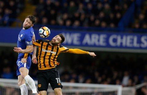 Hull City og Jon Toral (t.h.) har en god mulighet til tre poeng i lørdagenskamp mot Stoke.  (AP Photo/Alastair Grant)