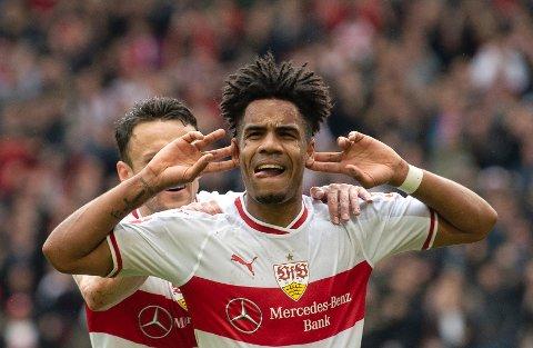 Stuttgart og Daniel Didavi er favoritter på hjemmebane mot Bochum mandag kveld.  (Sebastian Gollnow/dpa via AP)
