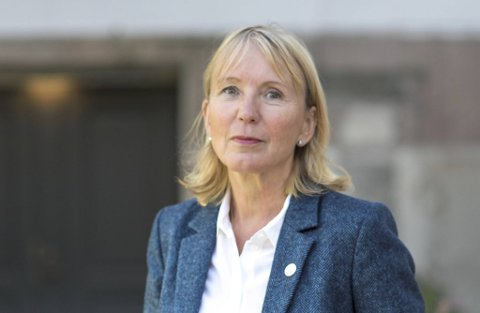 Margareth Hagen har vært fungerende rektor, men overtar nå jobben på fulltid.
