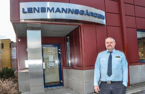 SVINDEL: – Det er ikke noe som heter politiet i Geithus, og om noen får telefon fra dem hører vi gjerne om det, sier Snorre Halvorsen ved Modum lensmannskontor.