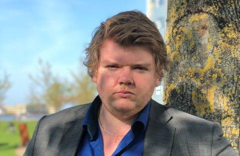 KRITISK TIL ÅRETS OD: Thomas Klingen i Buskerud FpU.