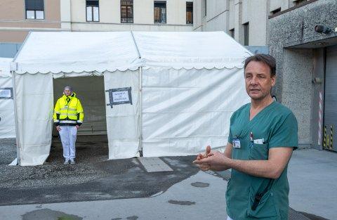 – Drammen sykehus er langt framme og har vært tidlig ute, sier Jørn Einar Rasmussen, seksjonsoverlege ved akuttmottaket ved Drammen sykehus.